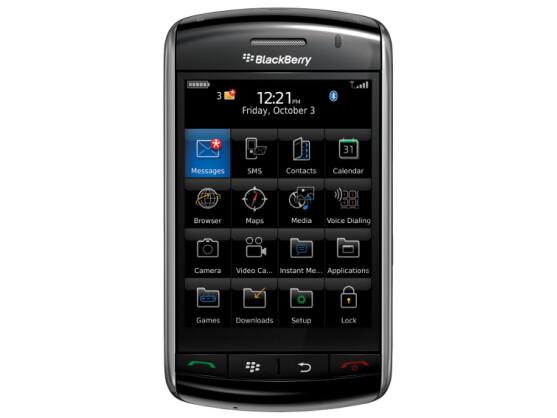 Hat das Zeug zum echten Überflieger: Blackberry Storm von RIM