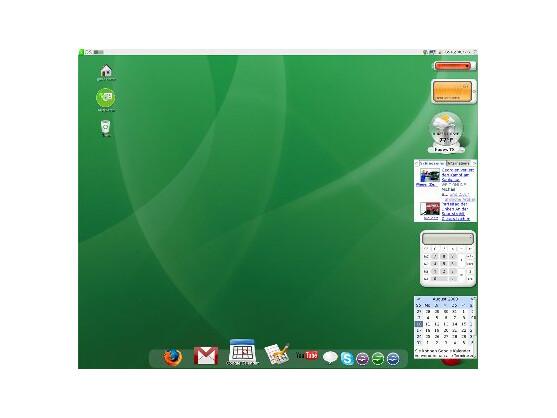 Der gOS-Desktop