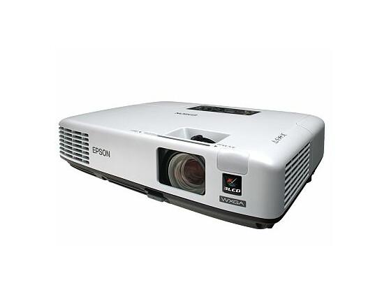 Der Epson 1735W beherrscht auch Breitbild-Darstellung mit 1.280 x 800 Pixeln.