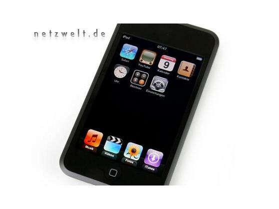 Maß der Dinge: Apples iPod Touch überzeugt beim bloßen Hinsehen.