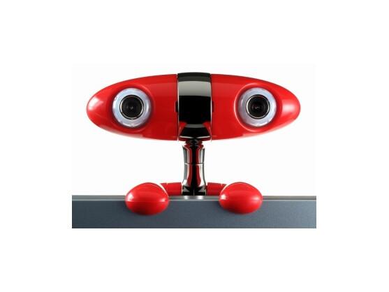 Menschliche Züge und Raumblick: Minoru 3D Webcam.