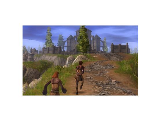 Kein Luftschloss: Im Laufe des Abenteuers dürfen Spieler eigene Festungen unterhalten und die Verteidigung gegen Angreifer organisieren.