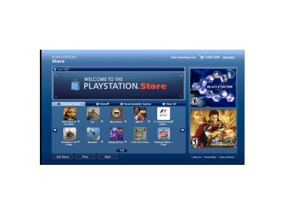 Der Playstation Store ist ein kostenloser Service, mit dem sich PSP- und PS3-Besitzer die neuesten Inhalte zu ihren Spielen holen können.