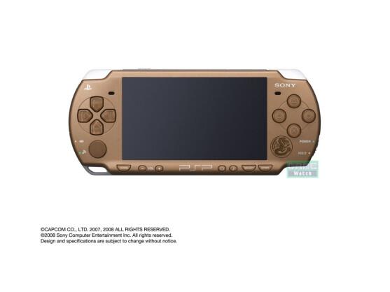 Nachdem die erste Version champagnerfarben war, wird die neue PSP eher ins Bräunliche gehen.