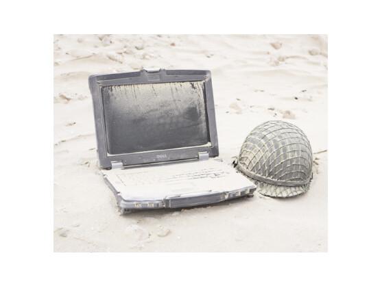 Dell Latitude E6400 XFR: Wo andere Notebooks den Geist aufgeben, fühlt sich das Dell-Gerät erst wohl.