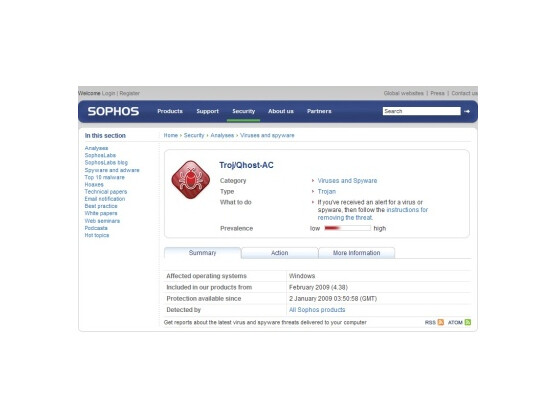 Troj/Qhost-VC: Torrent-Seiten blockieren gegen Downloads.