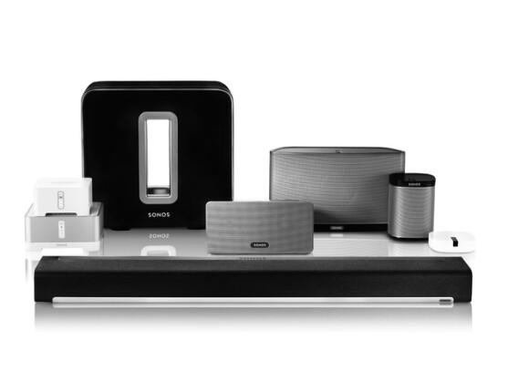sonos das mulitroom system auf wlan basis netzwelt. Black Bedroom Furniture Sets. Home Design Ideas