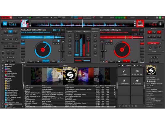 Virtual DJ 8 UI