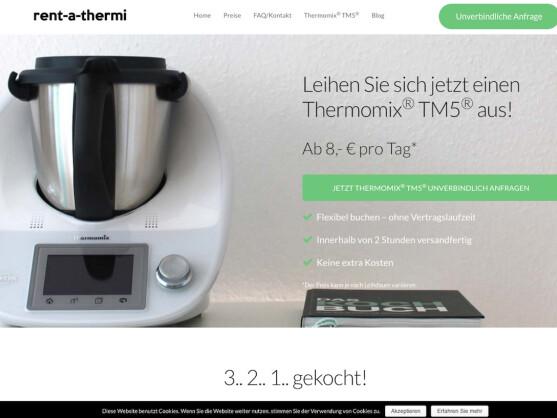 thermomix leihen all in k chenmaschine ab acht euro pro tag netzwelt. Black Bedroom Furniture Sets. Home Design Ideas