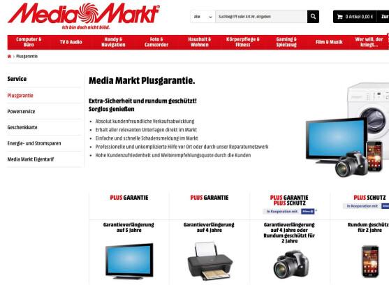 Mediamarkt Plusschutz