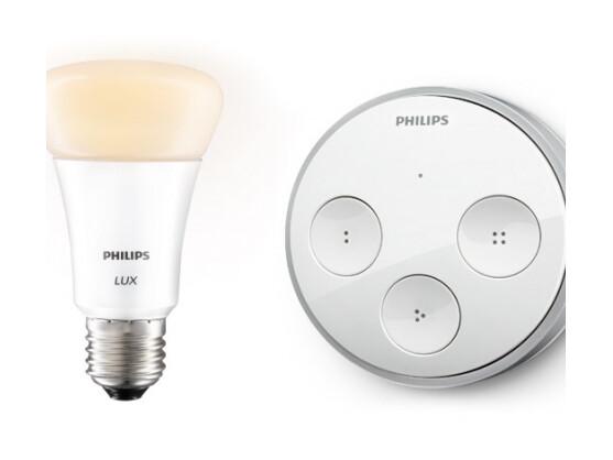 hue philips erweitert gadget lampenserie um kinetischen lichtschalter netzwelt. Black Bedroom Furniture Sets. Home Design Ideas