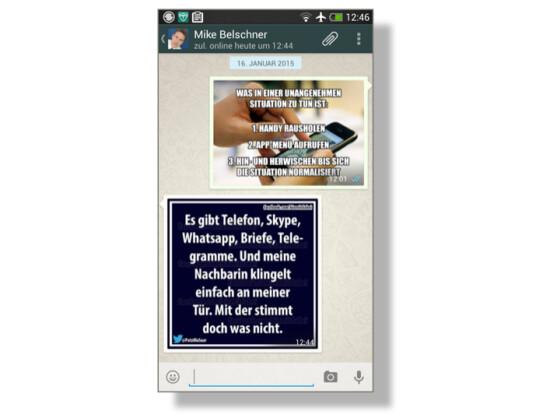 whatsapp-grüße: lustige bilder finden und versenden - netzwelt