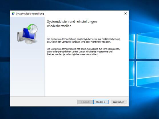 Die Systemwiederherstellung von Windows funktioniert wie eine Zeitmaschine und setzt Ihren Computer in die Vergangenheit zurück.