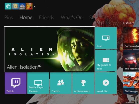 Xbox One: Update Erlaubt Dashboard-Gestaltung Mit