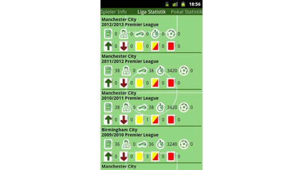 fußball statistik app