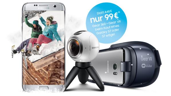 Samsung Gear 360 Aktionsangebot Inklusive Gear Vr Für 99 Euro