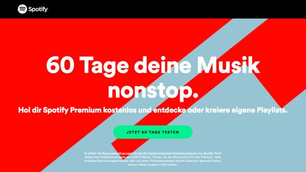 Spotify Premium Aktion