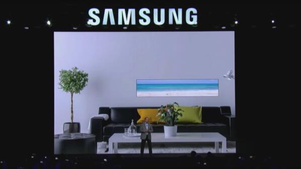 fernseher auf der ces 2018 das sind die tv highlights aus las vegas netzwelt. Black Bedroom Furniture Sets. Home Design Ideas