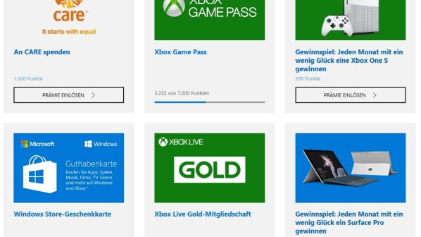 Xbox Live Rewards: Rewards Points Program Becomes Microsoft