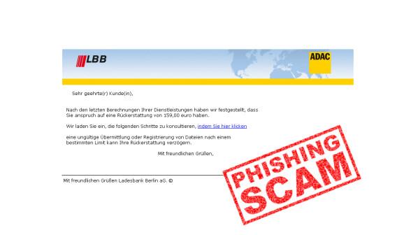 LBB-Phishing: Verbraucherzentrale warnt vor diesen E-Mails