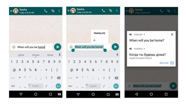 google bersetzer update macht android app fit f r whatsapp und co netzwelt. Black Bedroom Furniture Sets. Home Design Ideas