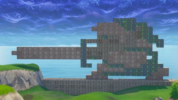 Fortnite Spielwiese Animiert Fans Zu Diesen Verrückten Kreationen - Minecraft spieler melden