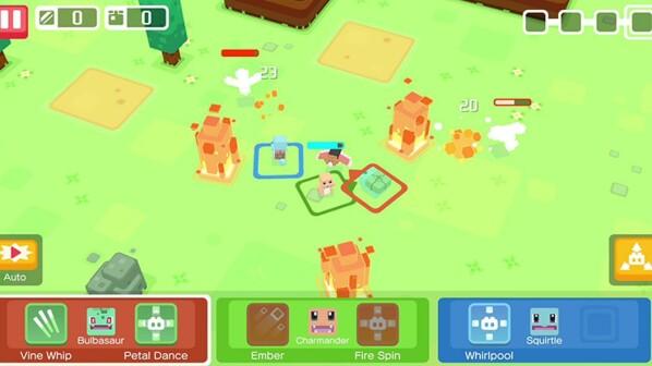 Pokémon Quest MinecraftPikachu Auf IOS Und Android Spielen Zum - Minecraft spiele anschauen