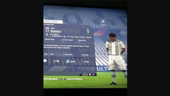 Fifa 18 Alex Hunter Als 11 Jähriger Spieler Im Karrieremodus