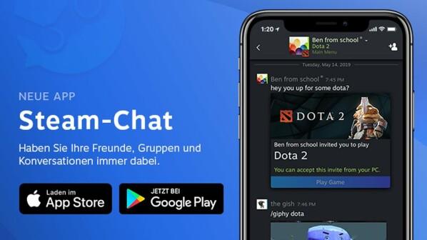 Steam Chat: Neue App bringt endlich Gruppenchat - zum Download