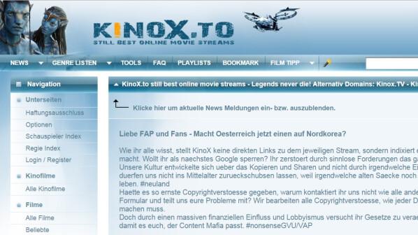 Kinox to alternative legal