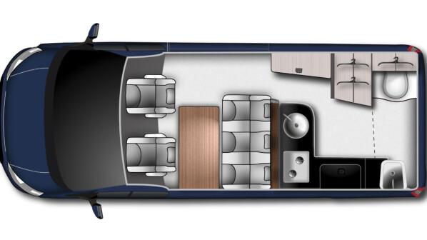 wohnmobil ford und westfalia stellen langen nugget plus in aussicht netzwelt. Black Bedroom Furniture Sets. Home Design Ideas