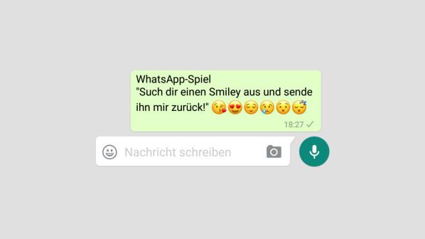Whatsapp Spiel Such Dir Einen Smiley Aus Regeln Und