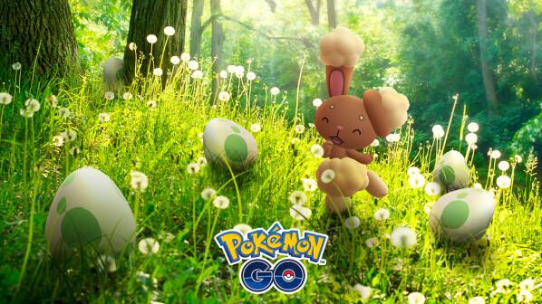 Pokémon GO: Ei-Spektakel zu Ostern bringt Shiny-Hasen und viele Boni