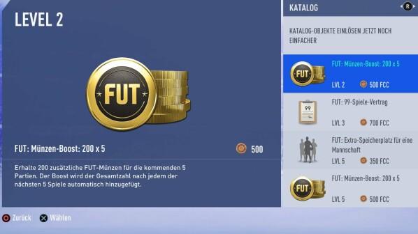 Fifa 19 Münz Boosts Aus Dem Katalog Benutzen Netzwelt