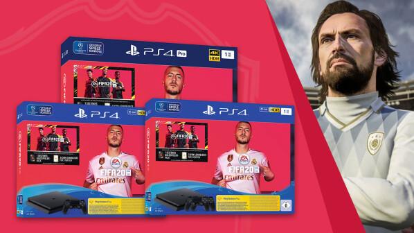 FIFA 20: Offizielle PS4-Bundles bieten diese FUT-Boni und ein PS Plus-Abo