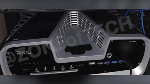 PS5: Neues Bild soll Design des PlayStation 5-Dev-Kits zeigen