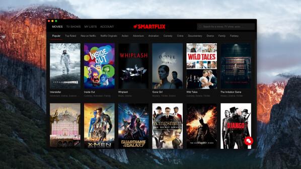 Smartflix Netflix Browser Mit Vpn Dienst Für Zugriff Auf