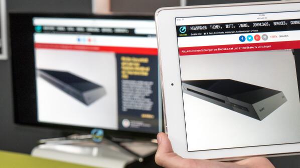 apple ios so verbinden sie das ipad mit einem beamer netzwelt. Black Bedroom Furniture Sets. Home Design Ideas