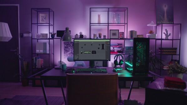 Philips hue razer zeigt video mit hue lampen als gaming beleuchtung netzwelt - Gamer zimmer ...