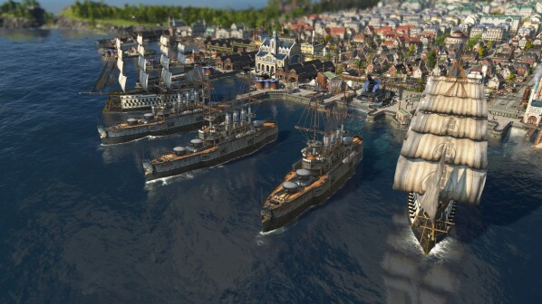 You can no longer buy Anno 1800 on Steam. But you have alternatives.