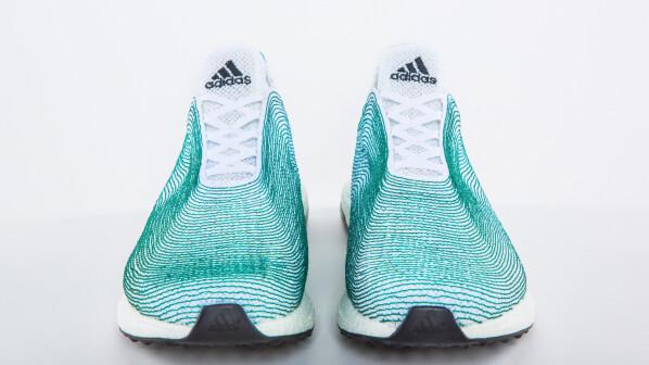 adidas schuh aus meeresmüll