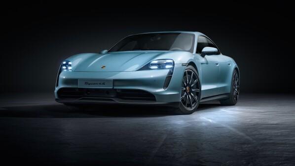 Neuer Porsche Taycan 4S: Ein günstiges Elektro-Einstiegsmodell - von Porsche