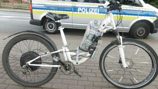 "E-Bike im Eigenbau: Polizei stellt Delmenhorster ""Klebeband-Tuner"""