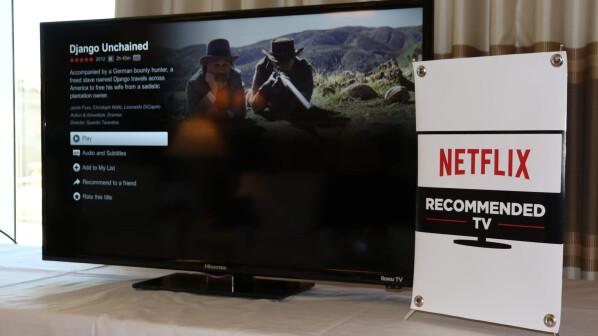 netflix recommended tv diese fernseher empfiehlt der streaming dienst netzwelt. Black Bedroom Furniture Sets. Home Design Ideas