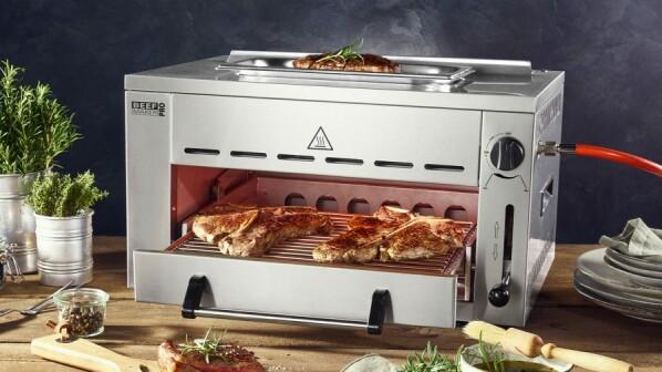 Aldi Gasgrill Gasflasche : Beef maker pro bei aldi: 800 grad grill für steaks wieder im angebot