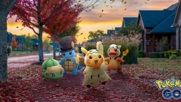 Pokémon GO: Halloween-Event mit massig Shiny-Pokémon und neuer Legende