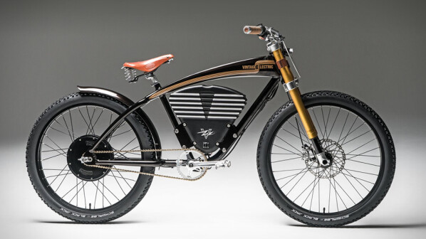 e bike f hrt 65 km h mit dem vintage electric scrambler. Black Bedroom Furniture Sets. Home Design Ideas