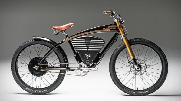 e bike f hrt 65 km h mit dem vintage electric scrambler. Black Bedroom Furniture Sets. Home Design Ideas