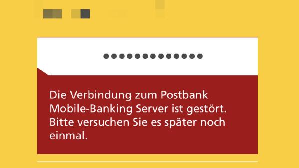Postbank-Login war gestört: Bank hat Probleme behoben