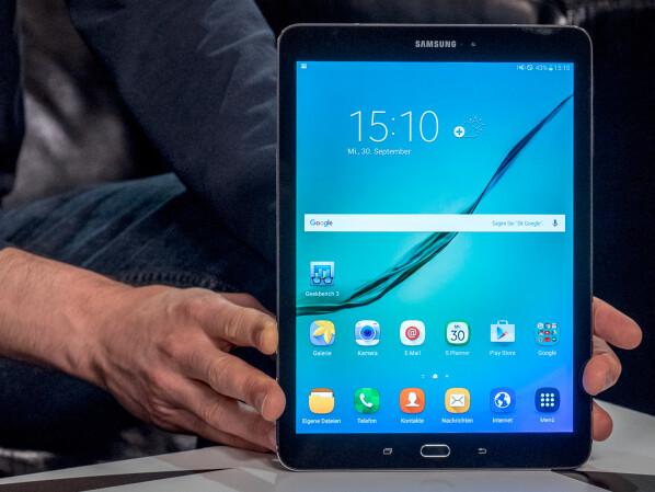 Galaxy Tab S2: Update auf Android 7 0 Nougat jetzt verfügbar